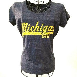University of Michigan Michigan Girl Tshirt Small